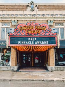 2021 PRSA Pinnacle Awards held at the Fountain Square Theatre