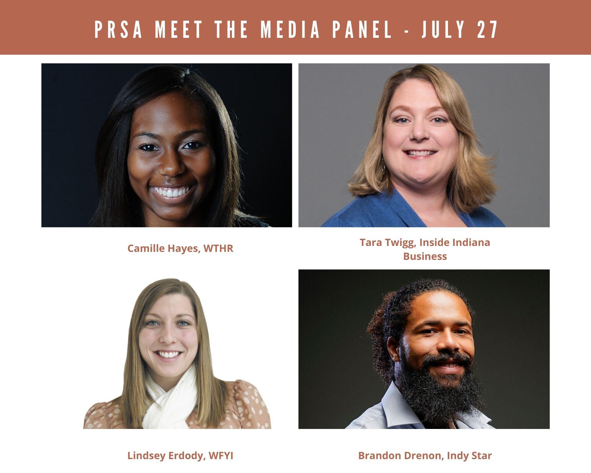 Image of Meet the Media panelists